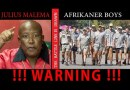 3 Pics: S.Africa: Is Julius Malema (EFF) preparing to attack the Whites in Coligny?