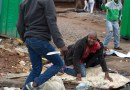 Graphic Photos: Black South Africans murder a foreign Black from Mozambique