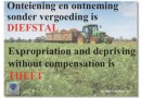 EXCELLENT: A BRITISH LEGAL EXPERT'S OPINION ON EXPROPRIATION OF LAND WITHOUT COMPENSATION IN SOUTH AFRICA