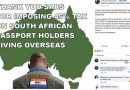 S.Africa: Black ANC Govt's Double taxes to drive Whites out!
