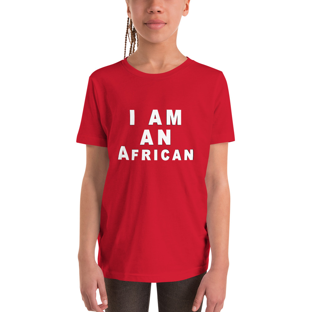 I'm An African Youth Short Sleeve T-Shirt
