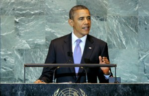 Barack Obama Addresses the 66th Session of the United Nations General Assembly