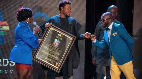 Ghana Events Awards: Outstanding stakeholders awarded to boost morale in creative industry.