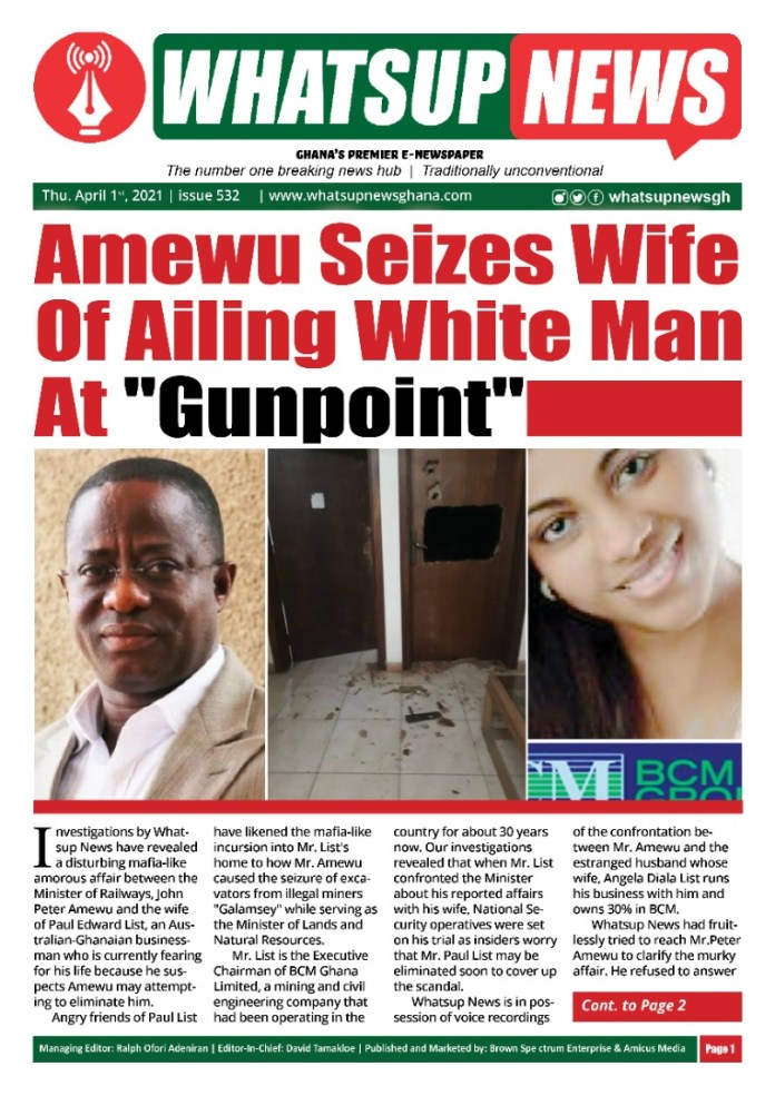 Romance War: Ghanaian minister fights Australian over George Weah alleged side-chick. 54