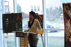 Reciting poetry for the Cleveland Association of Black Storytellers http://www.clevelandstorytellers.com/home0.aspx