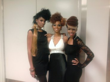 Behind the scenes at the Sanata Magazine Fashion Show in Baltimore, MD (runway models): This is the issue my picture is featured in http://www.amazon.com/SANATA-INTERNATIONAL-BRAIDING-MAGAZINE-Volume/dp/B001NYXKWW