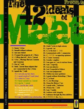 42 Ideals of Maat