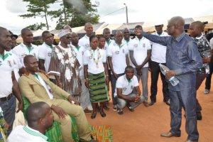 Gagnoa (région du Gôh)/Sports : Le député Bodi Théodore investit, au nom de Guikahué, le Comité central de football de Bayota