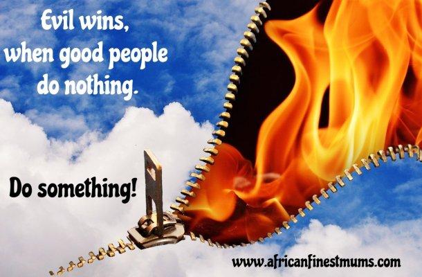 Africanfinestmums QOTW - Do something