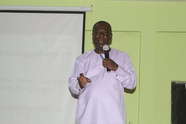 Addressing Seed Fertilizer smuggling in PFJ Programme Ghana
