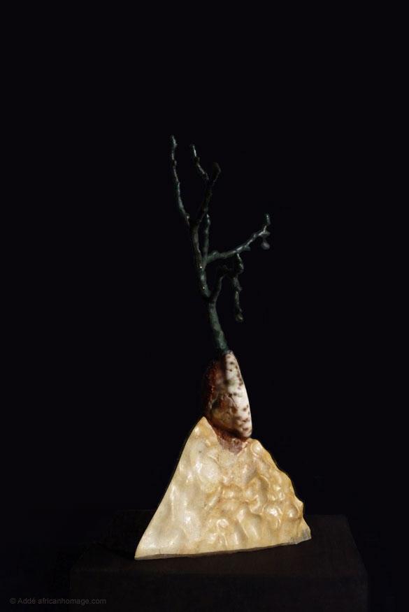 Sculpture African Homage