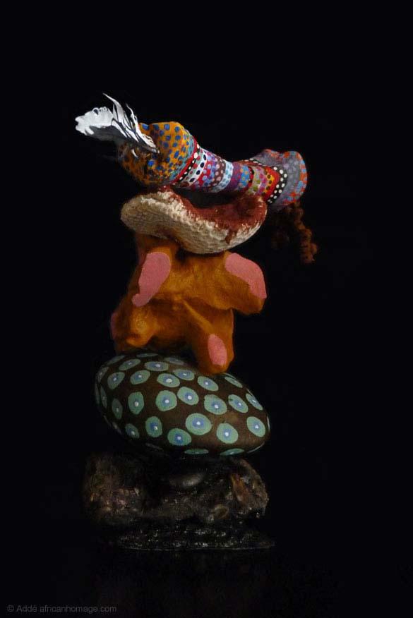 """Sculpture """"Tribute to Marie Laveau"""""""