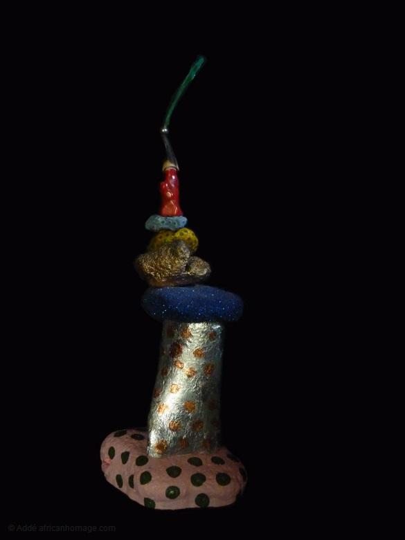 10 - Gooble Gobble, sculpture, Addé
