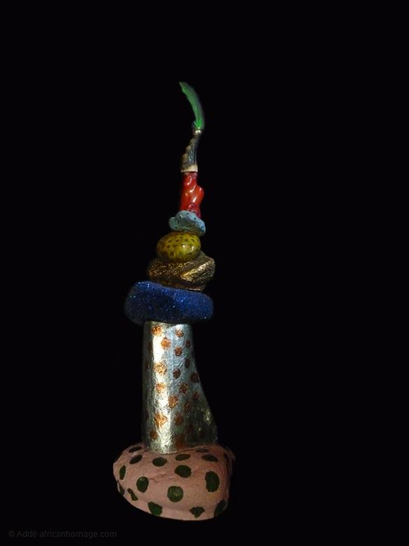 3 - Gooble Gobble, sculpture, Addé