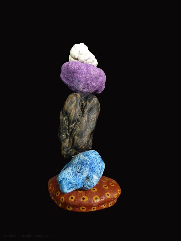 4 - Purple Haze, sculpture, Addé