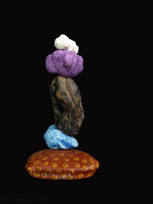 9 - Purple Haze, sculpture, Addé