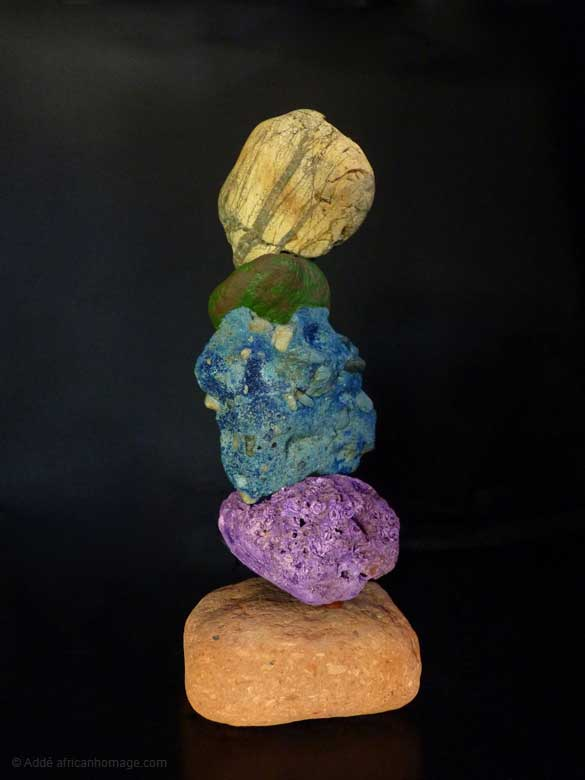 Expect the unexpected, sculpture, Addé, africanhomage