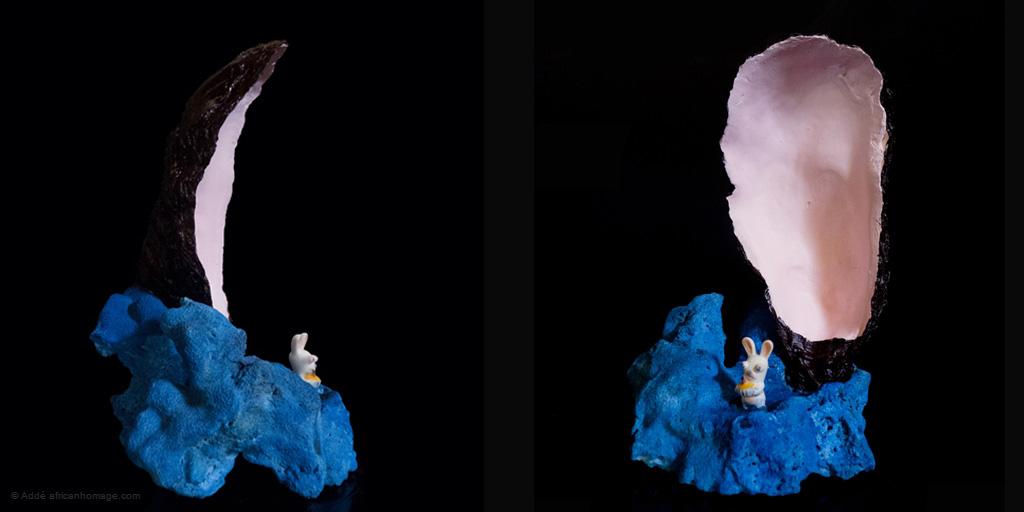 A Miraculous Apparition, sculpture, addé, african homage