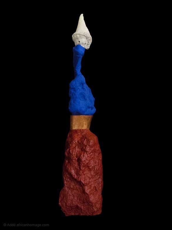 The Triumph of Venus, sculpture, Addé, africanhomage