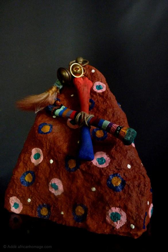 Gris-gris, sculpture, Addé, African Homage