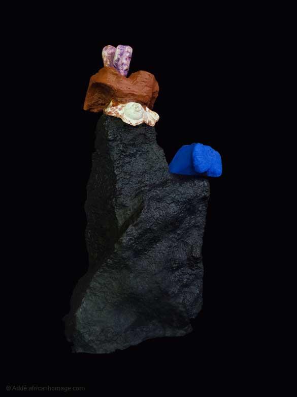 Star Dust, sculpture, Addé, African Homage