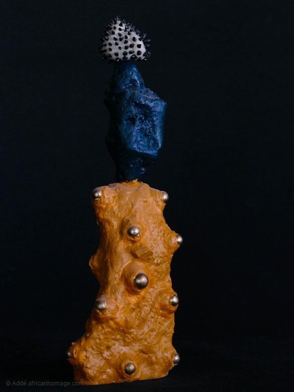 Impression Timbuktu, sculpture, Addé, African Homage