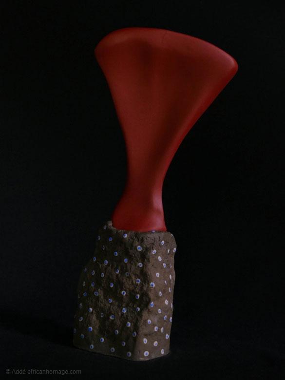 Morphogenesis four, sculpture, Addé
