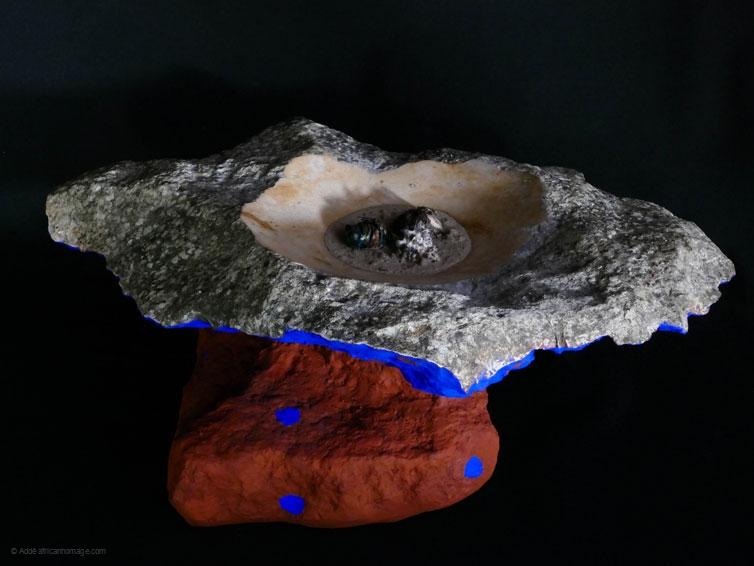 Votive offering II, sculpture, Addé, African Homage