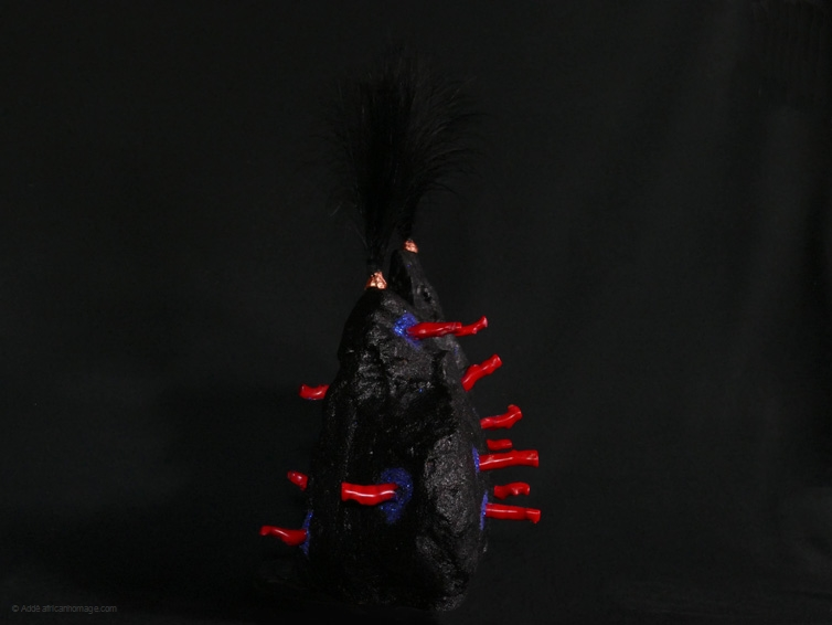 Extravaganza, sculpture, Addé, African Homage