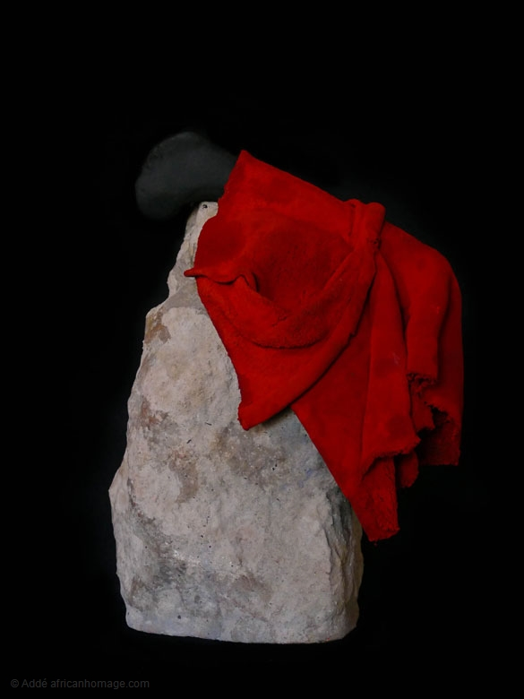 The Tunic of Nessus , sculpture, Addé, African Homage, photo, Xea B.