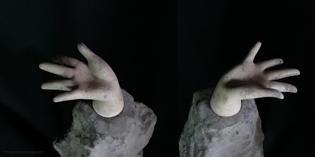 Chernobyl - sculpture - Addé - African Homage