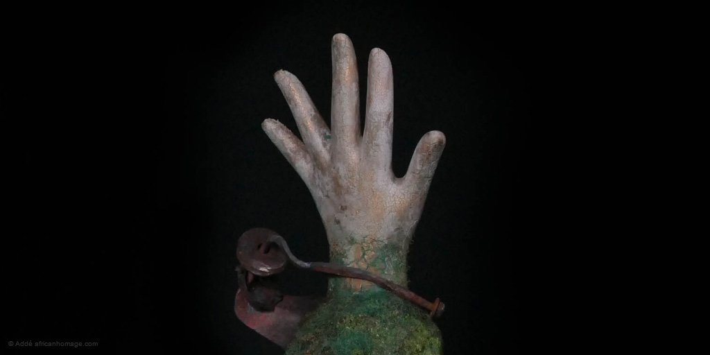 contemporary art sculpture (detail)