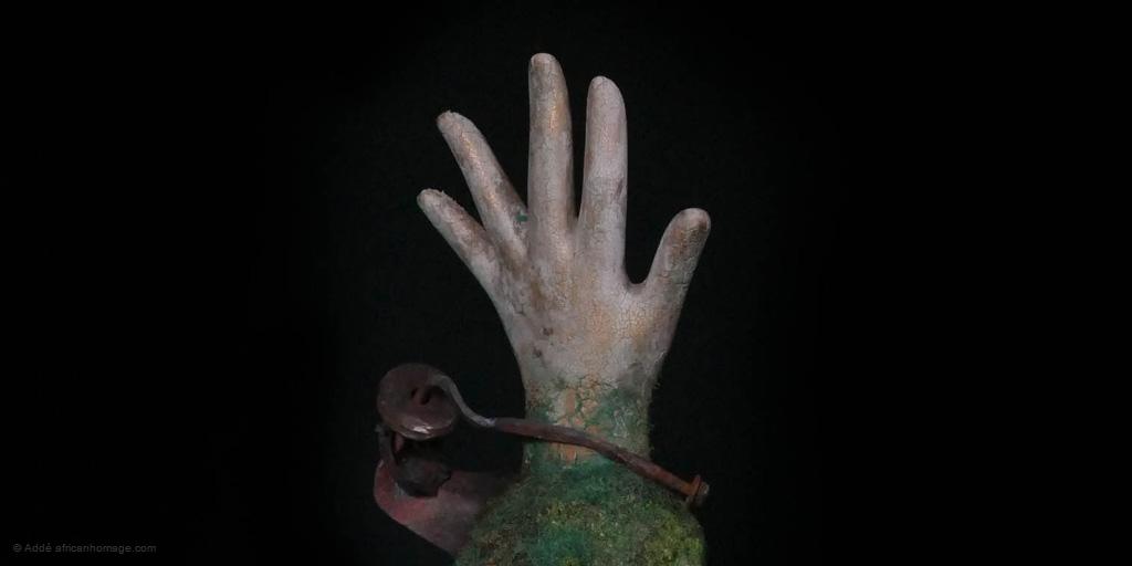 contemporary art sculpture (detail)