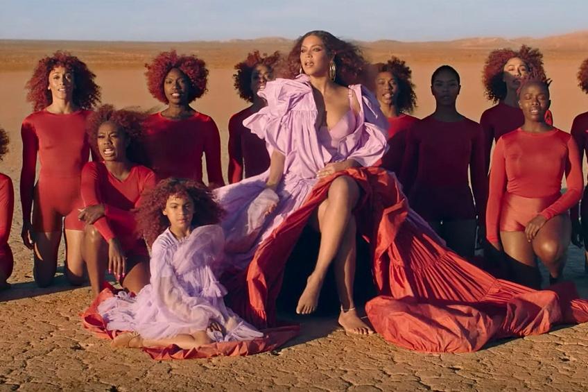 Beyoncé et sa fille dans Spirit, capture d'écran, juillet 2019