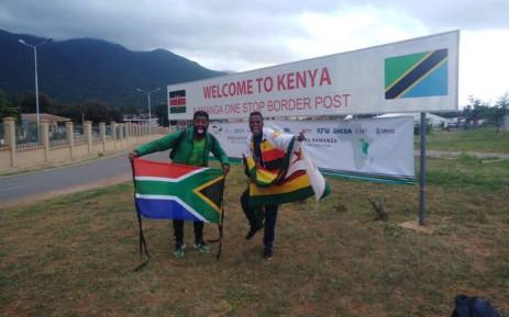 Botha à la frontière du Kenya
