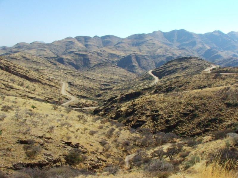 The Gamsberg Mountains