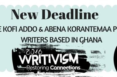 2016 Koffi Addo and Abena Korantemaa Writivism Prizes