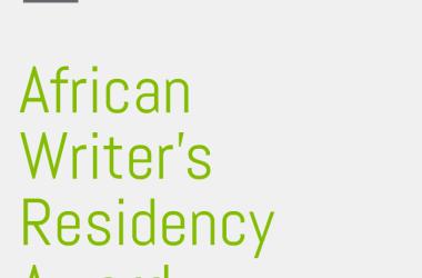 African Writer's Residency Award (AWRA)
