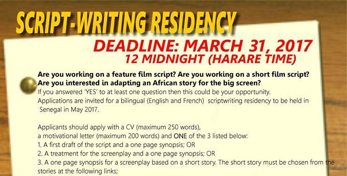 2017 ICAPA and Writivism Scriptwriting Residency
