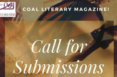 Submission Call: COALNG Literary Magazine