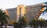 Monument tunisois par son architecture en V