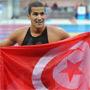 Oussama Mellouli a décroché la médaille d'or sur 10km en eaux vives. En tête de bout en bout