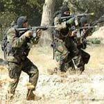 Des unités de l'armée et de la garde nationale ont découvert