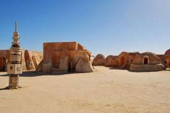 Abou Dhabi a été choisi comme l'un des lieux de tournage pour Star Wars: