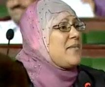 La députée Sonia Ben Toumia n'a pas exclu