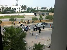 Suite à un rassemblement qui à eu lieu ce mercredi devant le siège de l'ambassade des Etats Unis en Tunisie
