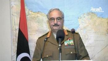 Le général Khalifa Hafter qui a dirigé le putsch en Libye