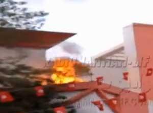 Un jeune marchand ambulant s'est immolé par le feu