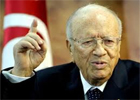L'ex-Premier ministre Beji Caïed Essebsi a confirmé