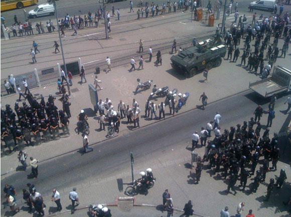 Branle-bas de combat ce vendredi 15 juin 2012